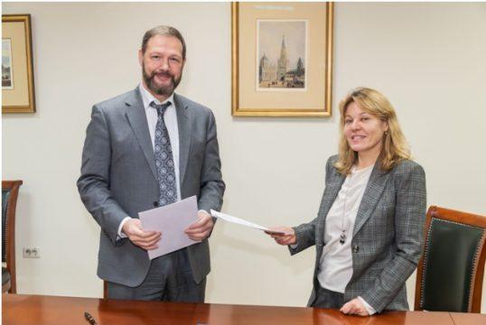 Подписан договор о сотрудничестве между АПКМ и выставкой RosBuild