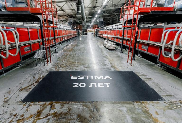 20 лет производству керамогранита в России – Estima в свой юбилей запустила новую линию производства широкоформатного керамогранита после модернизации завода в Подмосковье
